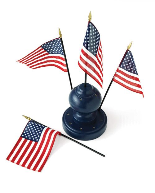 Make Your Own Flag Holder For The 4th 4th Of July