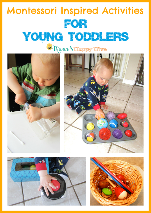 7 Montessori Inspired Activities For Toddlers Week 2