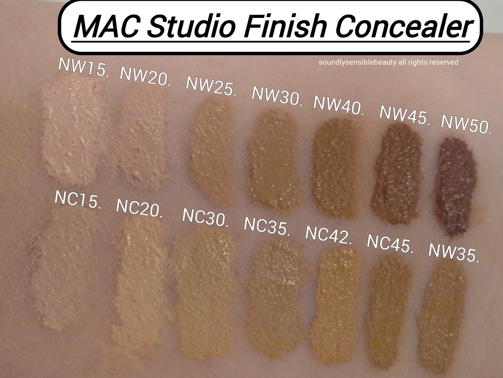 Studio Finish Concealer Duo by MAC #4