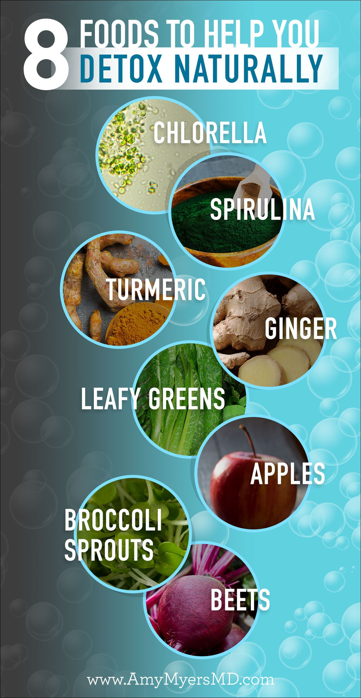 8 Foods To Help You Detox Naturally Amy Myers Md Natural Detox Detox Juice Natural Detox Drinks