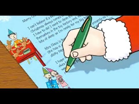 NSPCC Letter from Santa... Santa is busy writing his ...