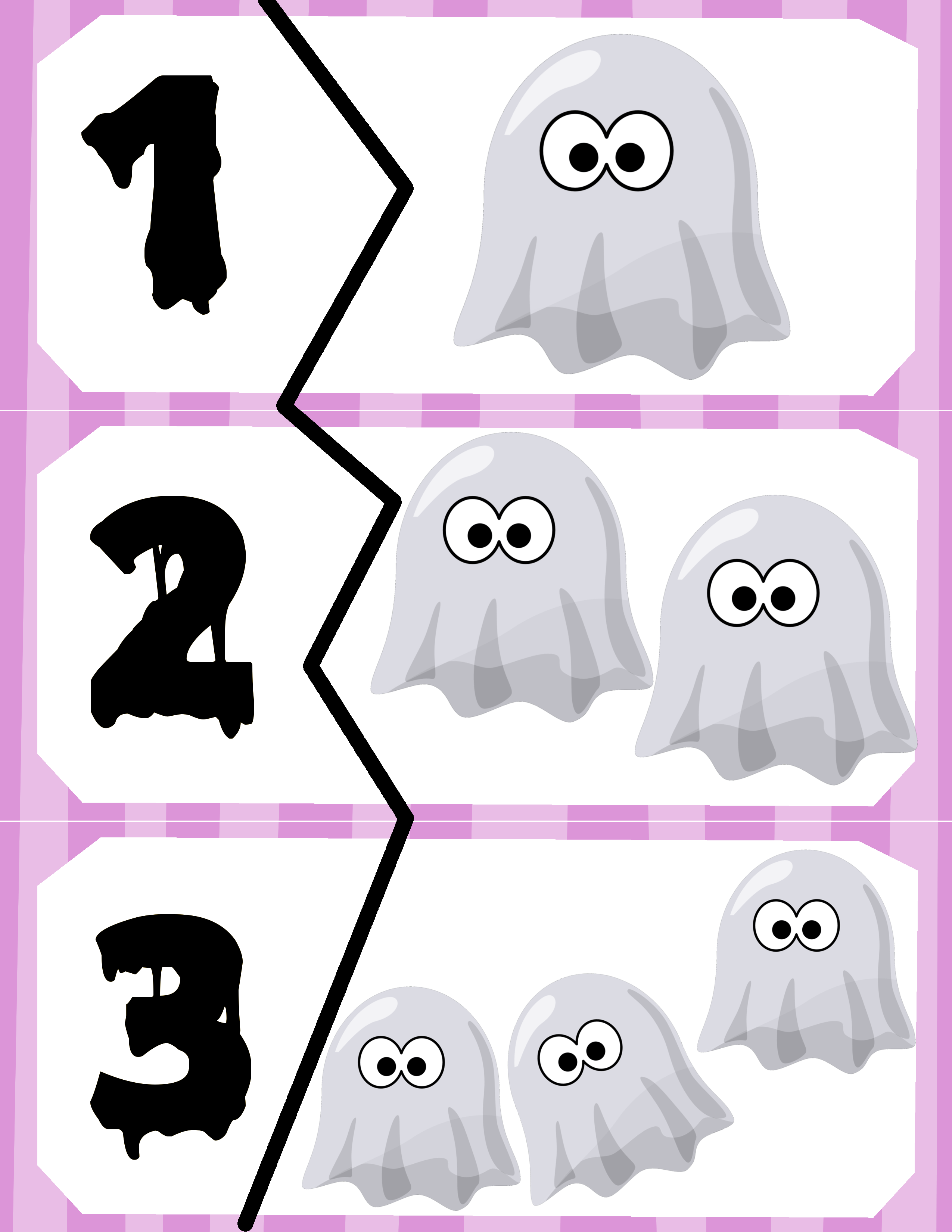 Ghost Counting Puzzles