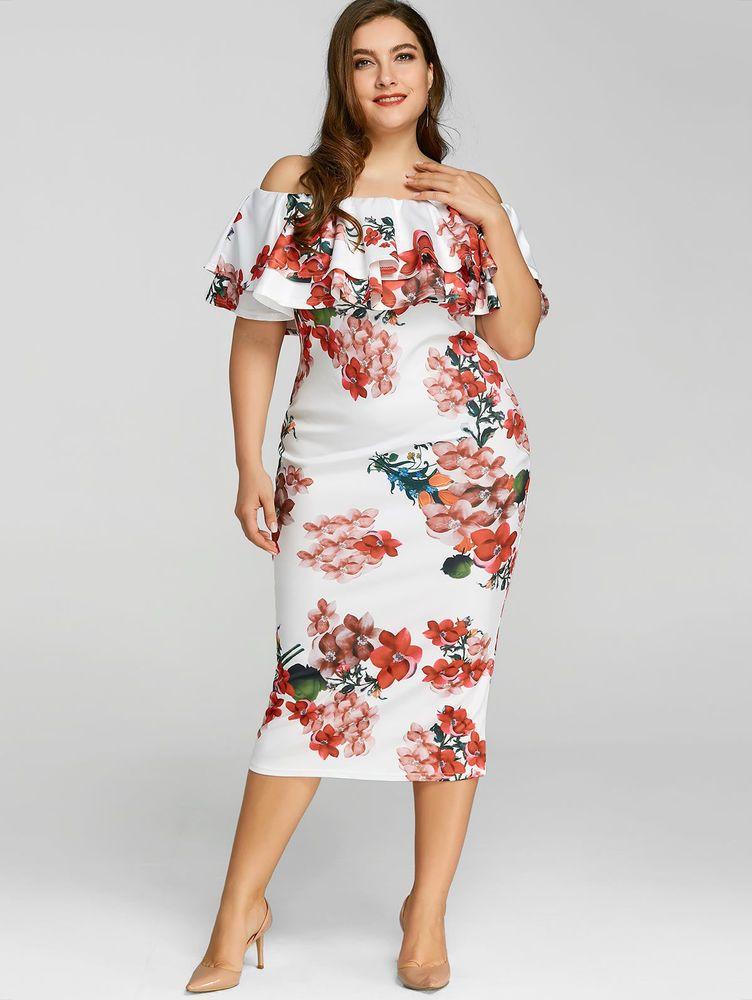 e3e27ea4f Vestidos Ropa de Moda Para Mujer De Fiesta Elegante Tallas Grandes Plus  Size  Vestidos  Elegantes