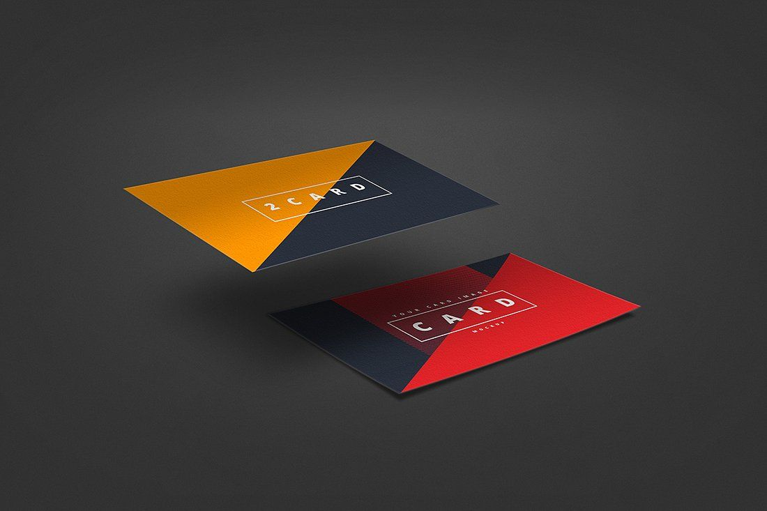 7 Business Card Mockup (With images) Business card mock