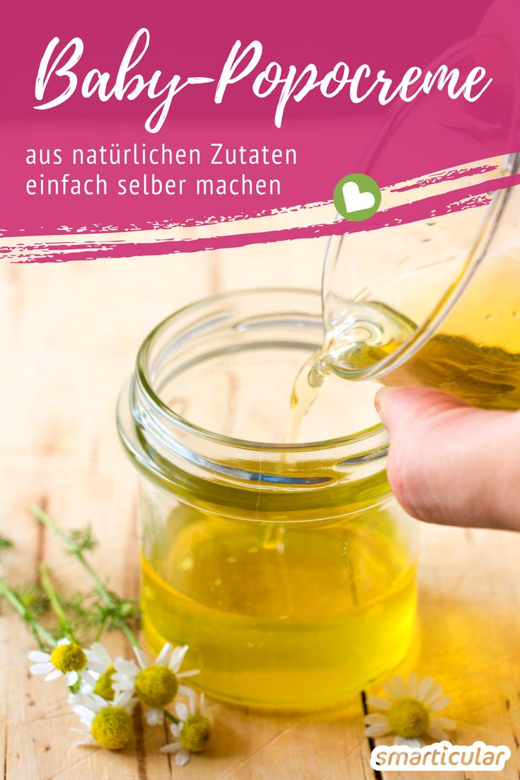 Baby Popocreme Selber Machen Naturliche Wundschutzcreme Wundschutzcreme Seife Selber Machen Rezept Salben Selber Machen