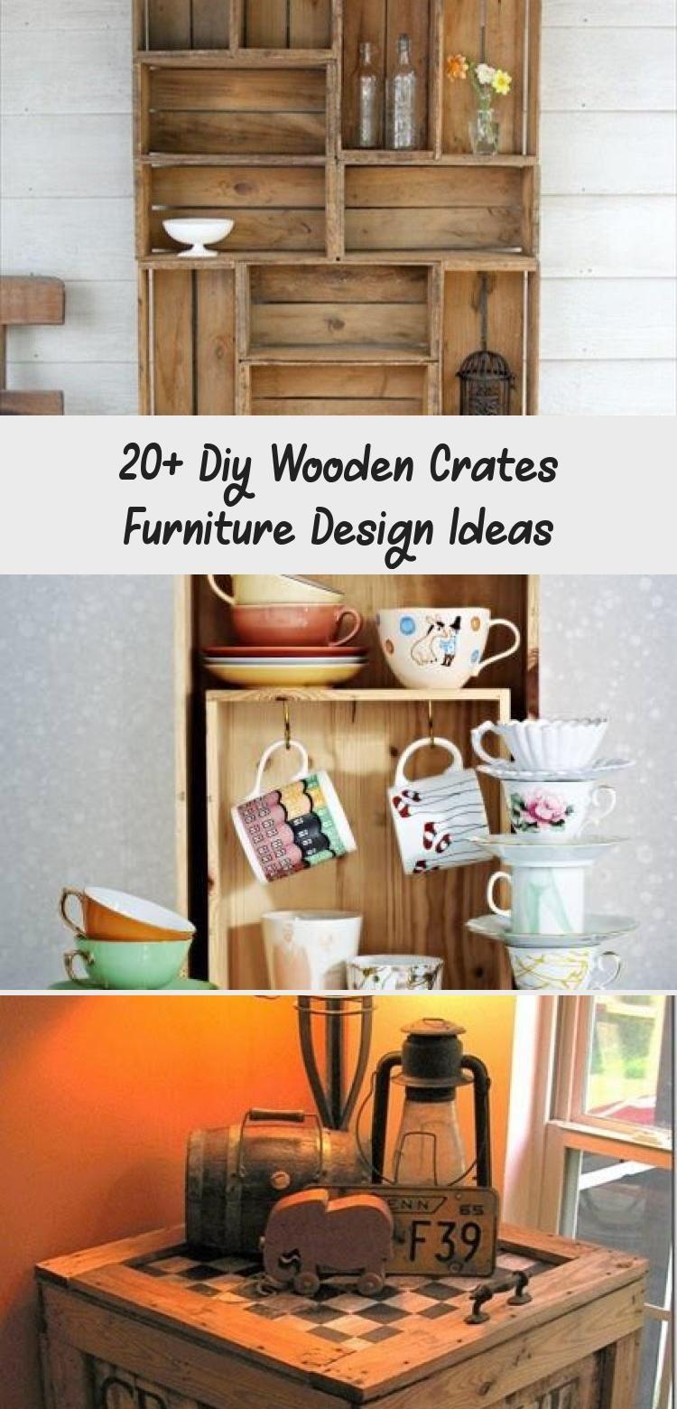 Photo of 20+ Diy Holzkisten Möbel Design-Ideen