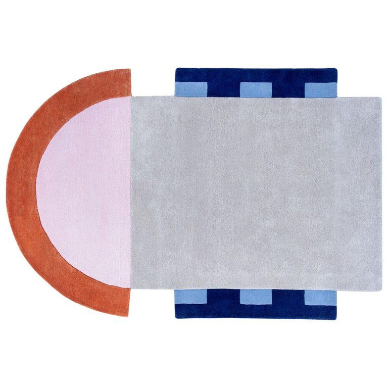 Court Series Abstract Key Rug By Pieces Hand Tufted Colorful Sporty Carpet Rugs On Carpet Textured Carpet Rugs