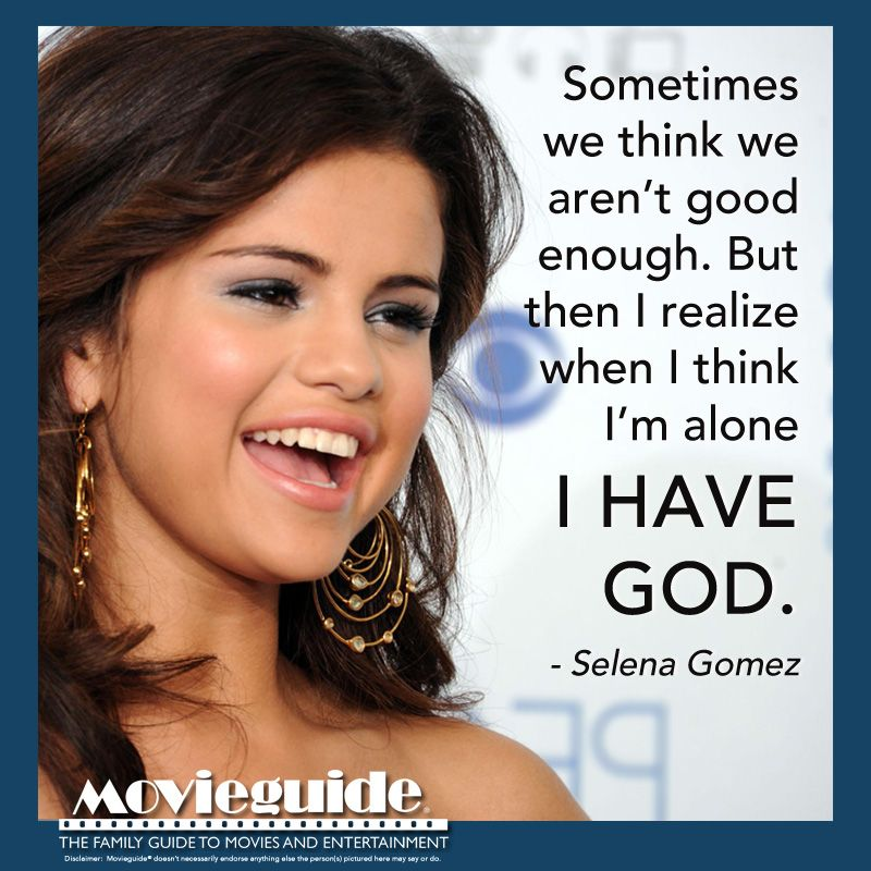 Celebrity quotes about christianity