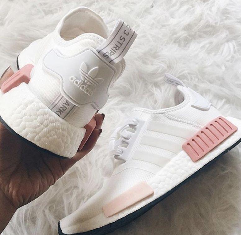 3 stripes | Pink nike shoes, Adidas