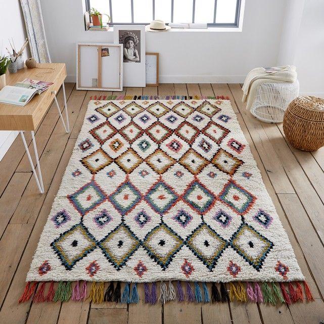 Dankzij de verschillende afmetingen kan je het gebruiken in de hal, kamer of salon.Eigenschappen tapijt Ourika :100% wol, 2700 g/m²Afmetingen tapijt Ourika :120 x 170 cm160 x 230 cm.Ontdek al onze tapijten op laredoute.be