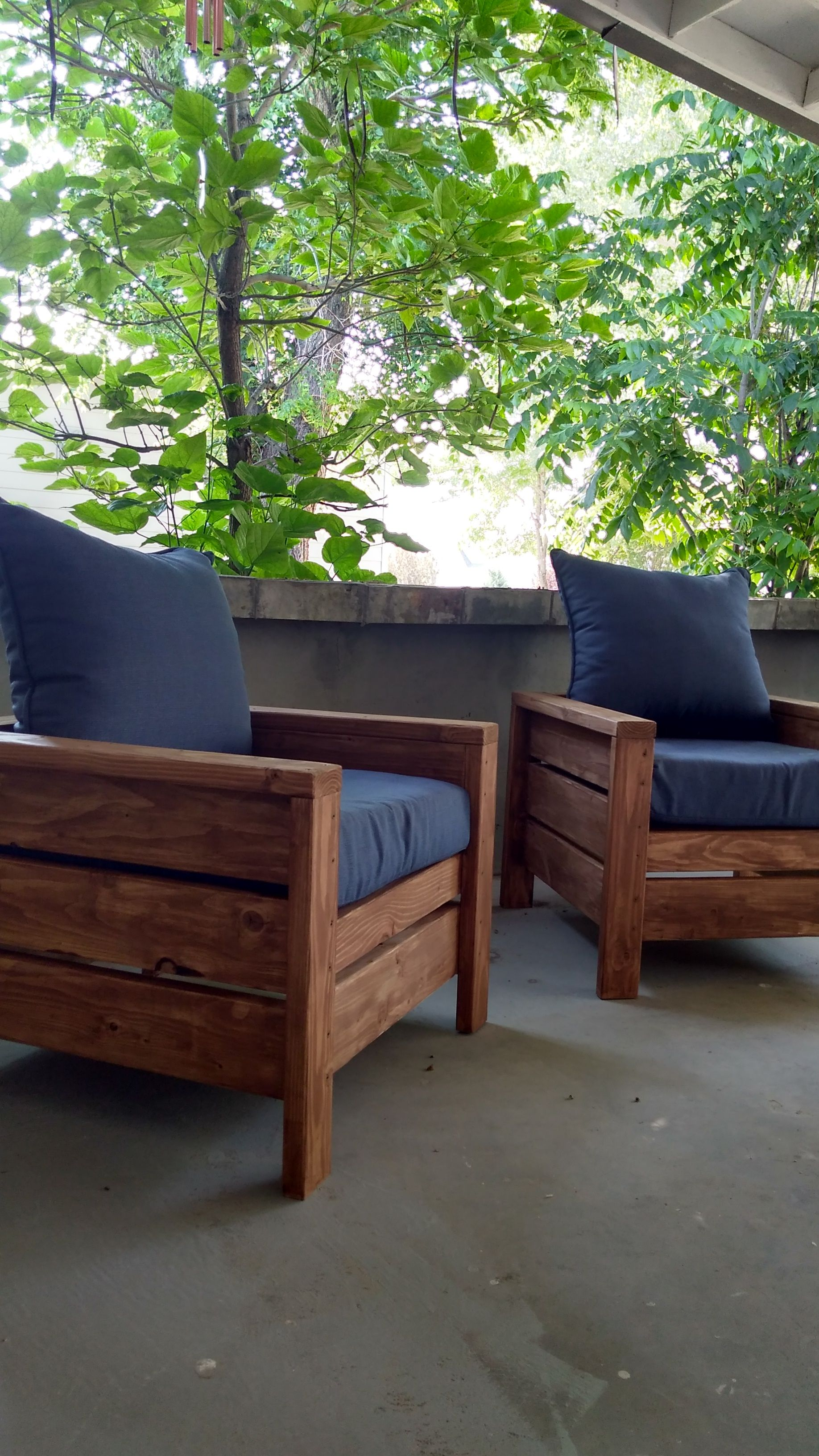 Ana White Patio Chairs - Diy Projects Sunporch