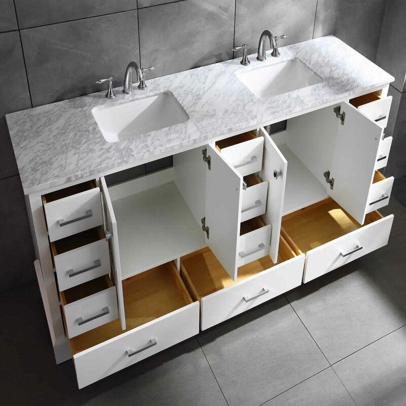 Talbot 84 Double Bathroom Vanity Set In 2020 Double Vanity Bathroom Bathroom Vanity Vanity Set