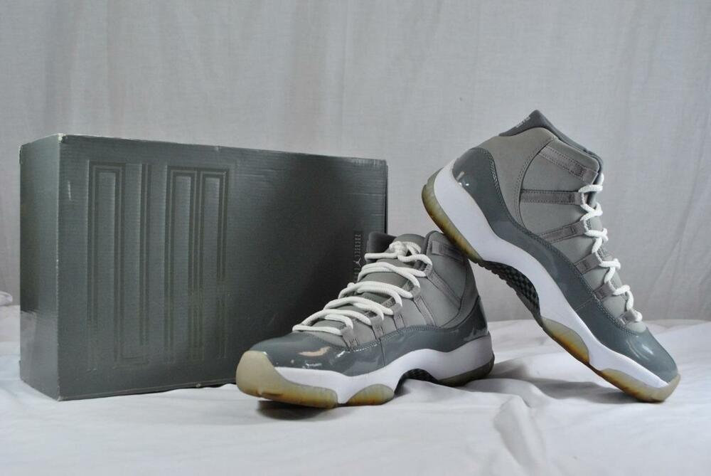ca8020132595 Nike Air Jordan 11 Retro Men s Size 11.5 Shoes Medium Grey White -  378037-001  Nike  BasketballShoes