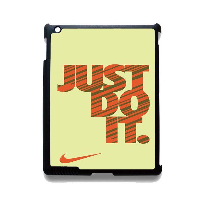 Nike Just Do It Cream TATUM-7865 Apple Phonecase Cover For Ipad 2/3/4, Ipad Mini 2/3/4, Ipad Air, Ipad Air 2