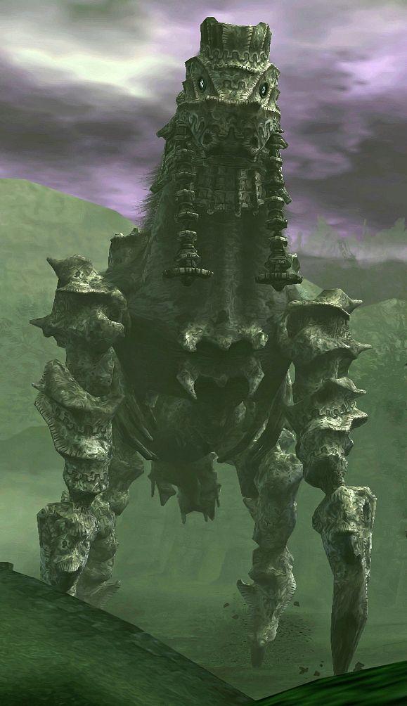 Phaedra Team Ico Wiki Shadow Of The Colossus Colossus Conceptual Artwork