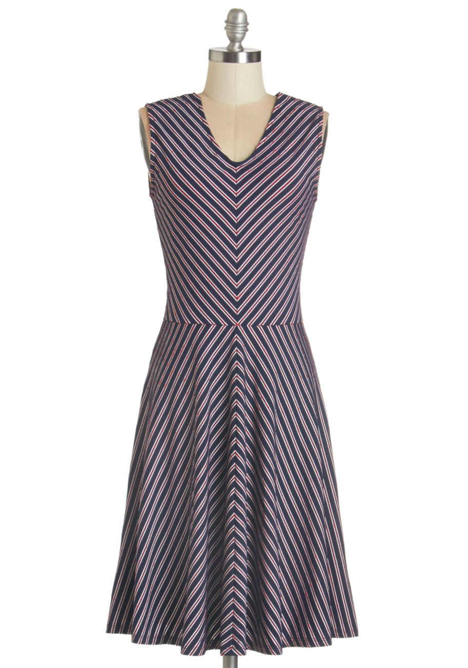 Sweet Sunny Day Dress. The sun is high in the sky as you spend the day by  the sea in this navy-blue 7b1020eac