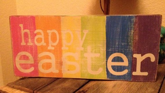 Hey, I found this really awesome Etsy listing at http://www.etsy.com/es/listing/176769096/happy-easter-easter-wall-hanging-easter