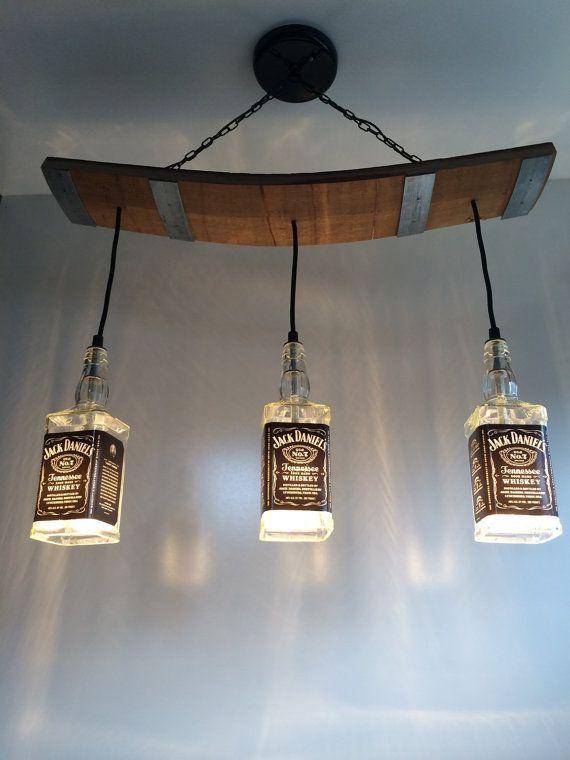 Jack Daniel\'s Lights | Regal | Beleuchtungsideen, Kronleuchter ...