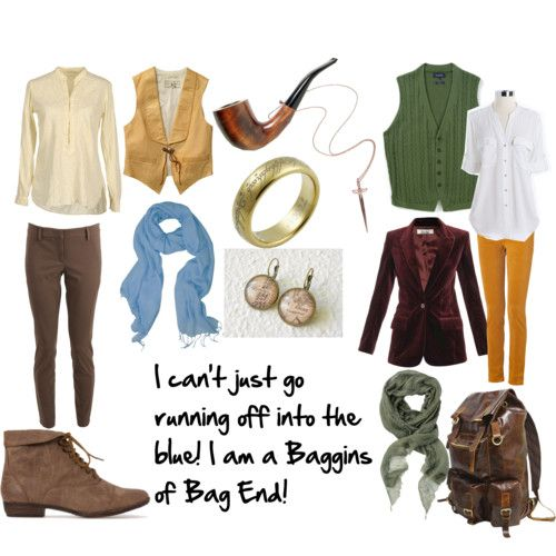 Bilbo Baggins female outfit - I think this is just awesome