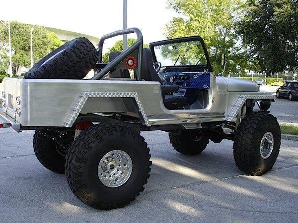 1984 CJ8 Jeep Scrambler (custom aluminum body)  | NO WEAK