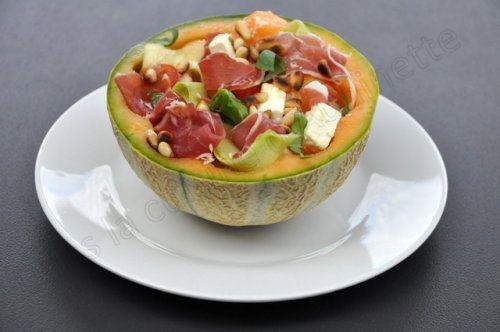 Dans la cuisine d'Audinette | Salade melon, Recettes de ...