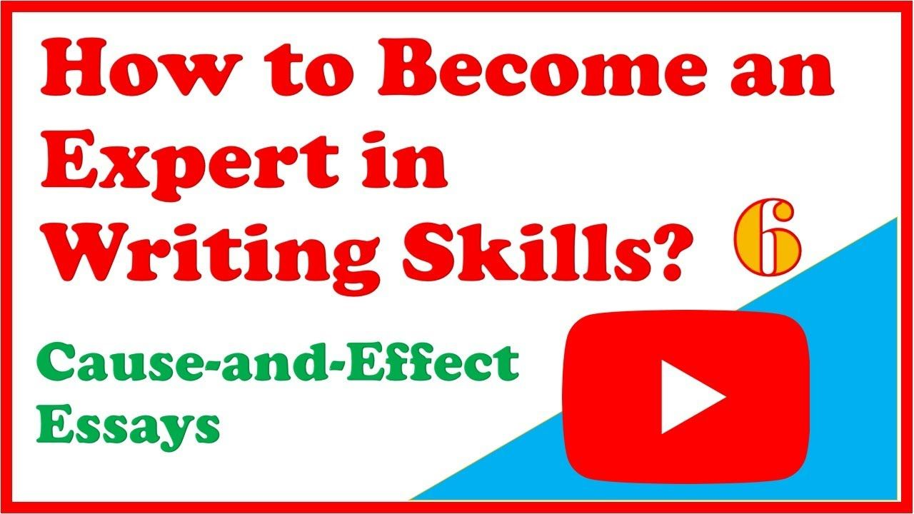 How To Become An Expert In Writing Skill Short Essay 6 Ca