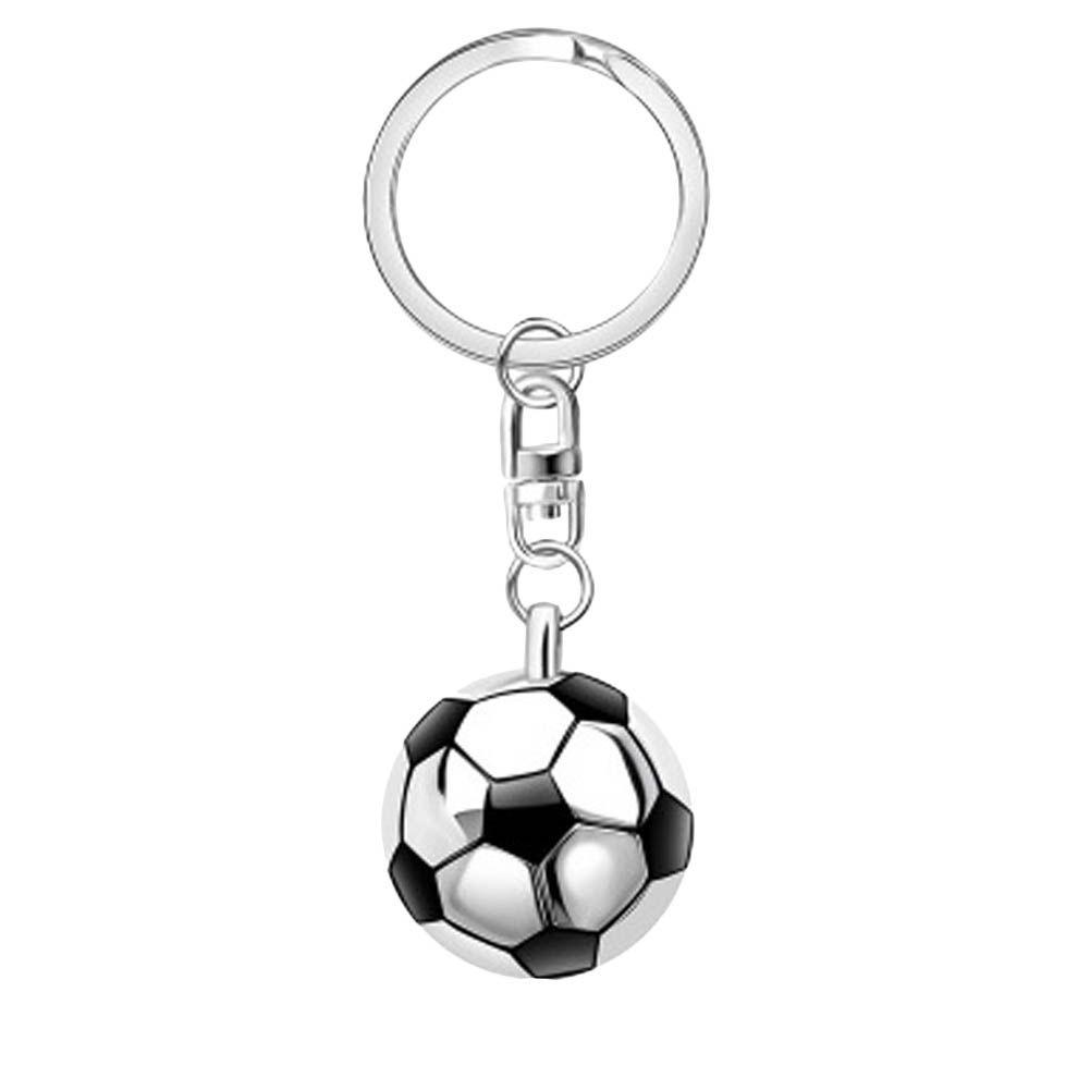 Soccer Fans Ball Pendant Soccer Keychain Jewelry Decoration Football Keyring SU