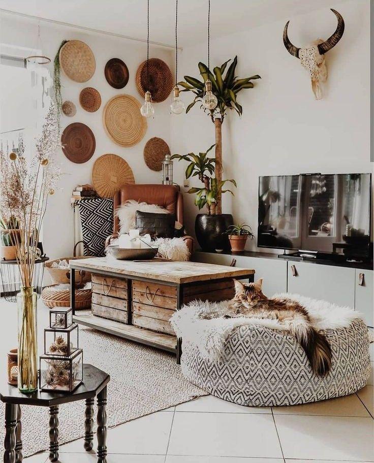 desert bohemian , boho style > living room area decoration ...