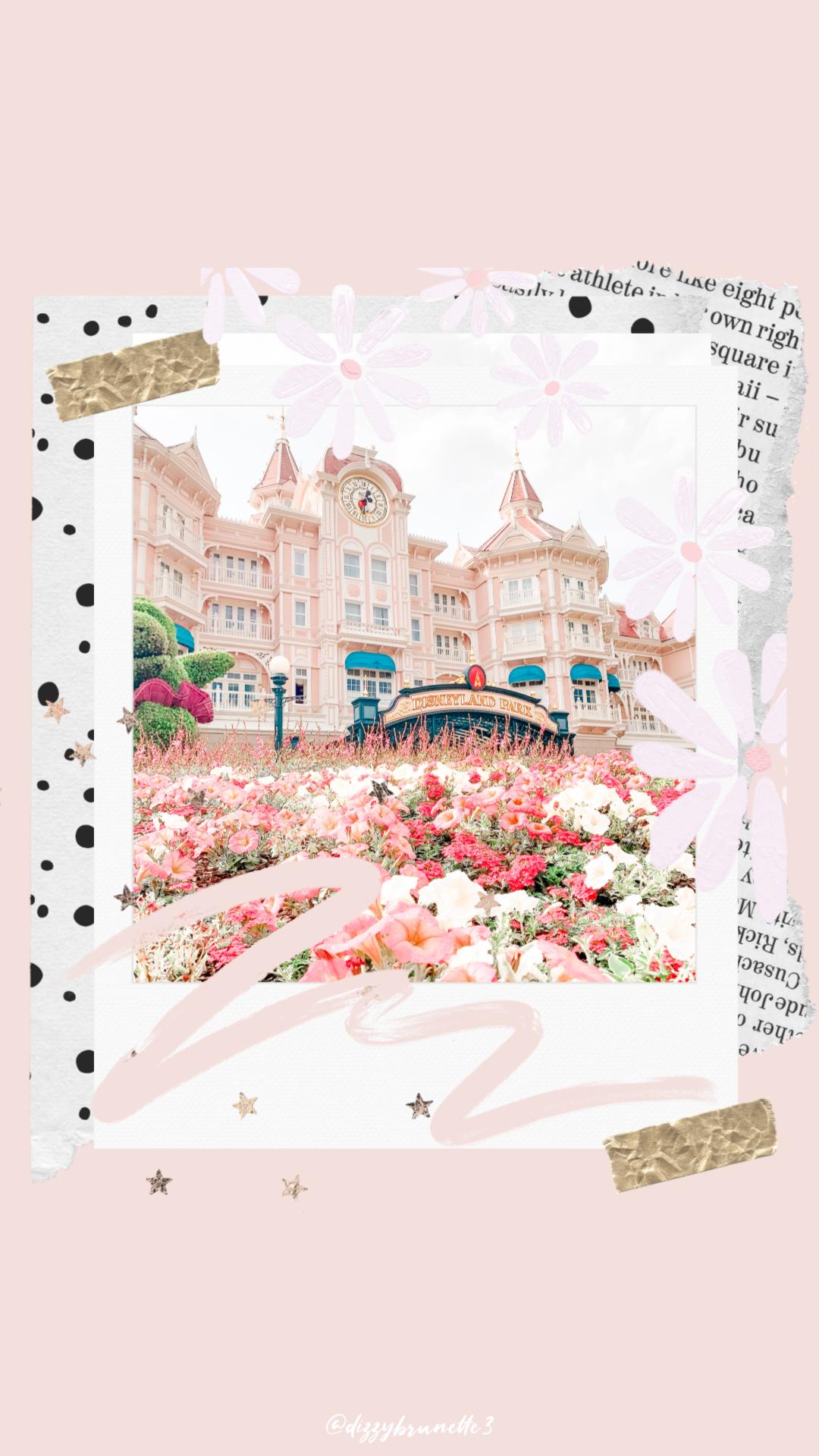 Disney Disney Halloween Disneyworld Autumn Iphone Wallpaper