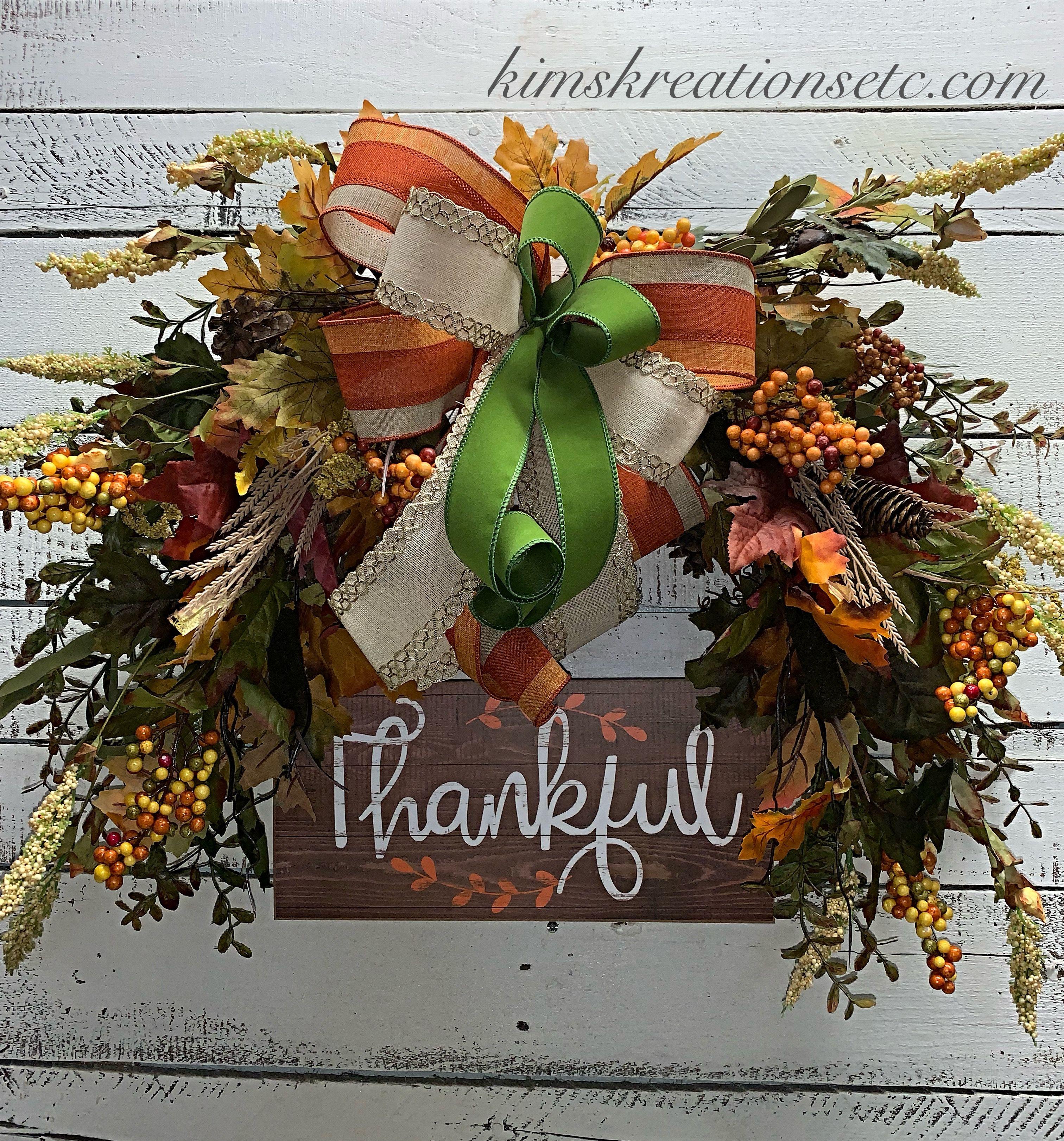 Fall Wreath Fall Door Wreath Fall Wreath For Thanksgiving