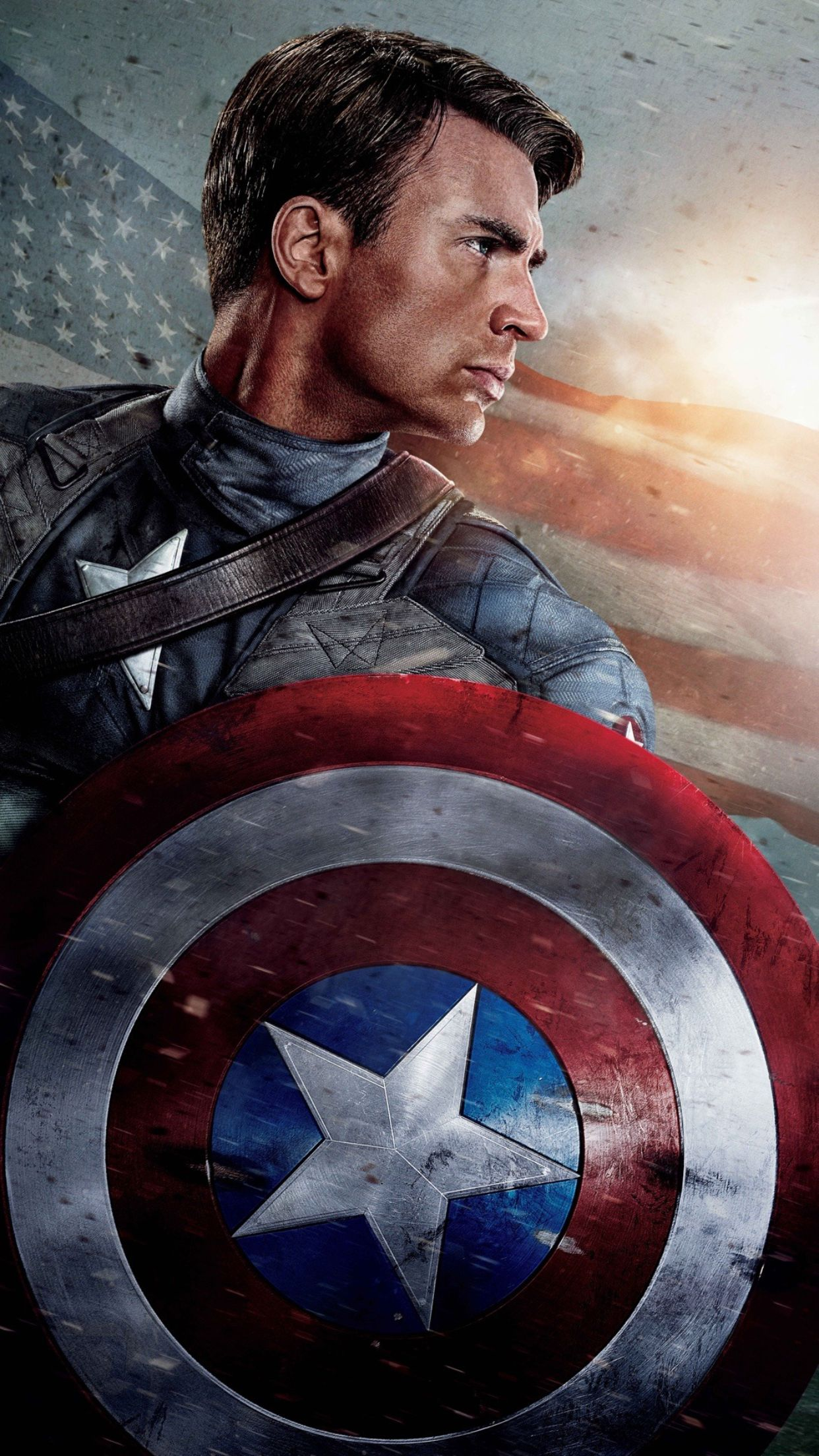 CHRIS EVANS #20,8x10 PHOTO,closeup,CAPTAIN AMERICA,the avengers