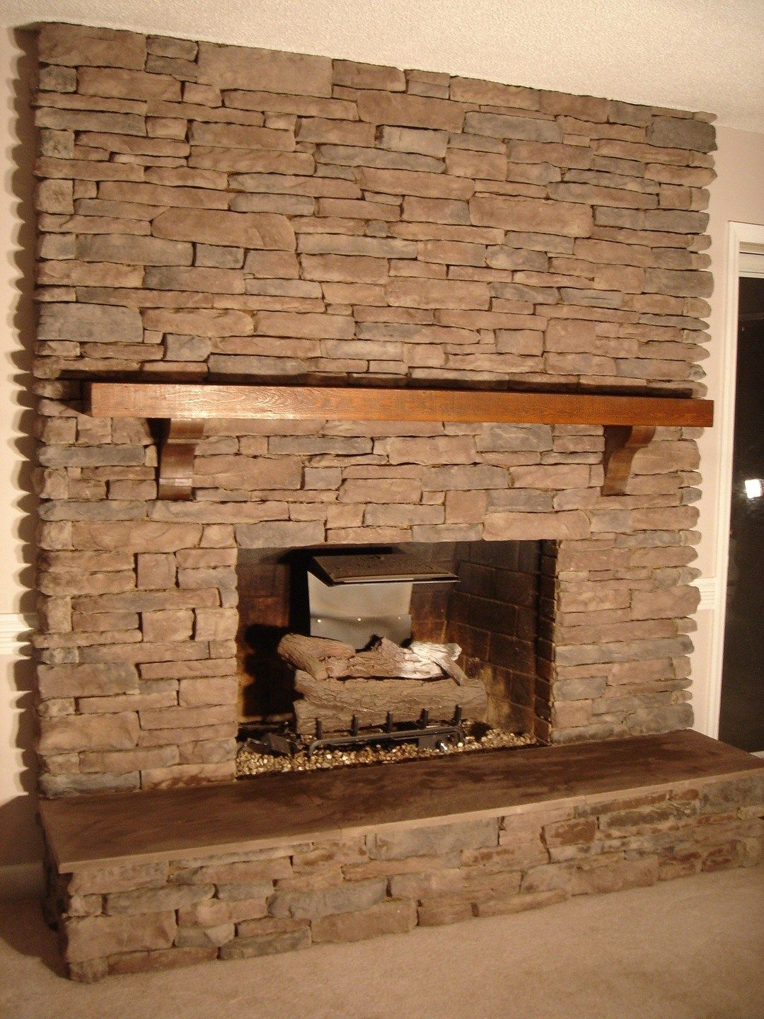 Fireplace Stone Tile Gas Fireplace Nerium1 Stone Accent Walls And