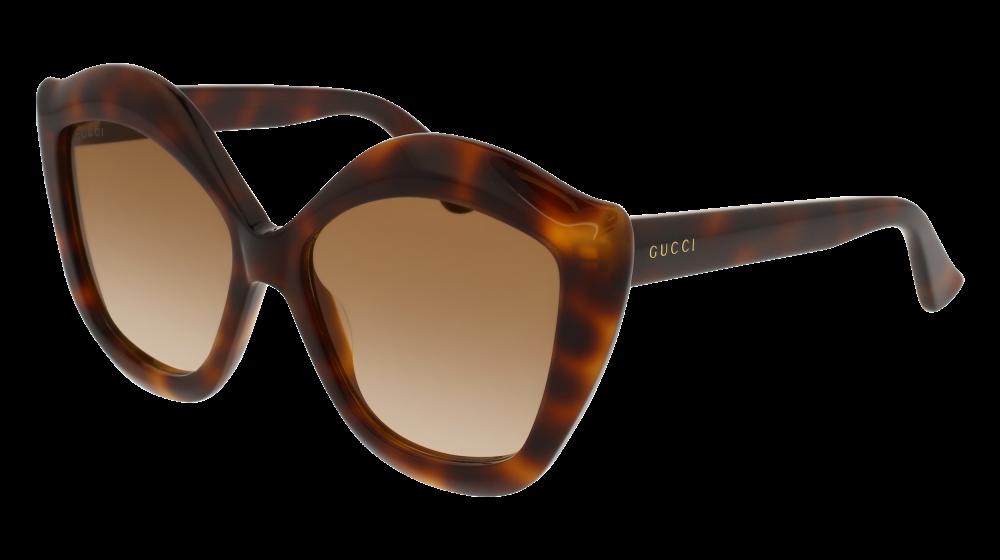 b539d83d032 Gucci - GG0117S-002 Avana Sunglasses   Brown Gradient Lenses ...