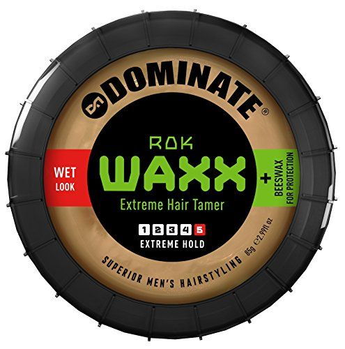 Dominate Salon Series Rok Waxx Hair Styling Wax With Beeswax Extreme Hair Hold With A Defined Wet Look 85g 3 Oz Find Out More Extreme Hair Wet Look Bed Hair