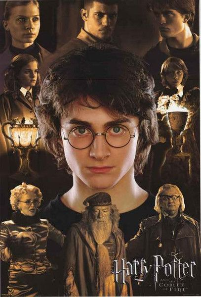 Harry Potter Goblet Of Fire Movie Poster 24x36 Harry Potter Goblet Harry Potter Movies Harry Potter Pictures