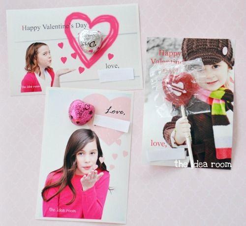 Valentine's Day Card Ideas via Amy Huntley (The Idea Room)