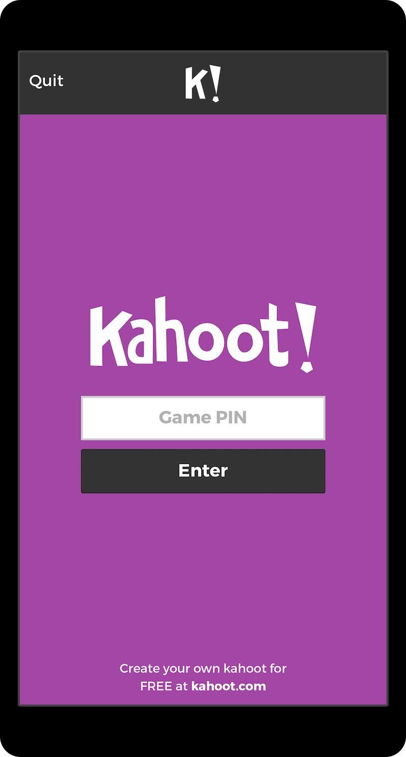 app Kahoot, Mobile app, Apps for teachers