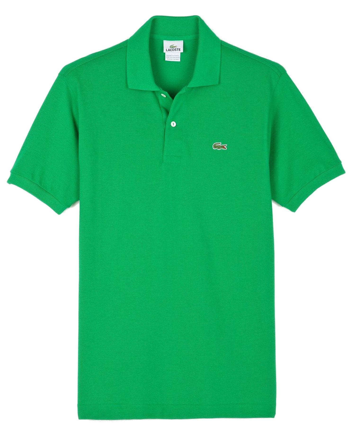 6e5991536e9f5 Lacoste L1212 Original Polo Shirt - 100% Cotton Moda De Patrón