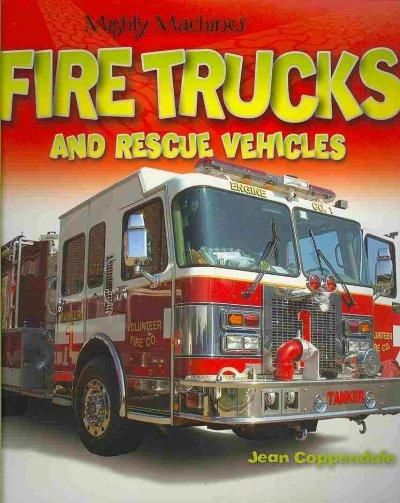 (Red) Trucks and Rescue Vehicles (Paperback)