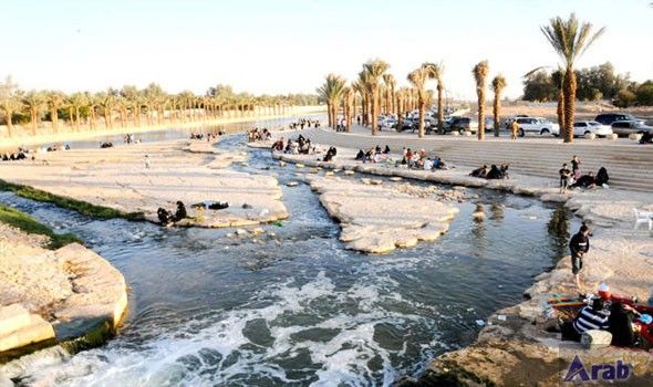 Wadi Hanifa A Desert Oasis Running Through Riyadh Desert Oasis Desert Landscaping Riyadh