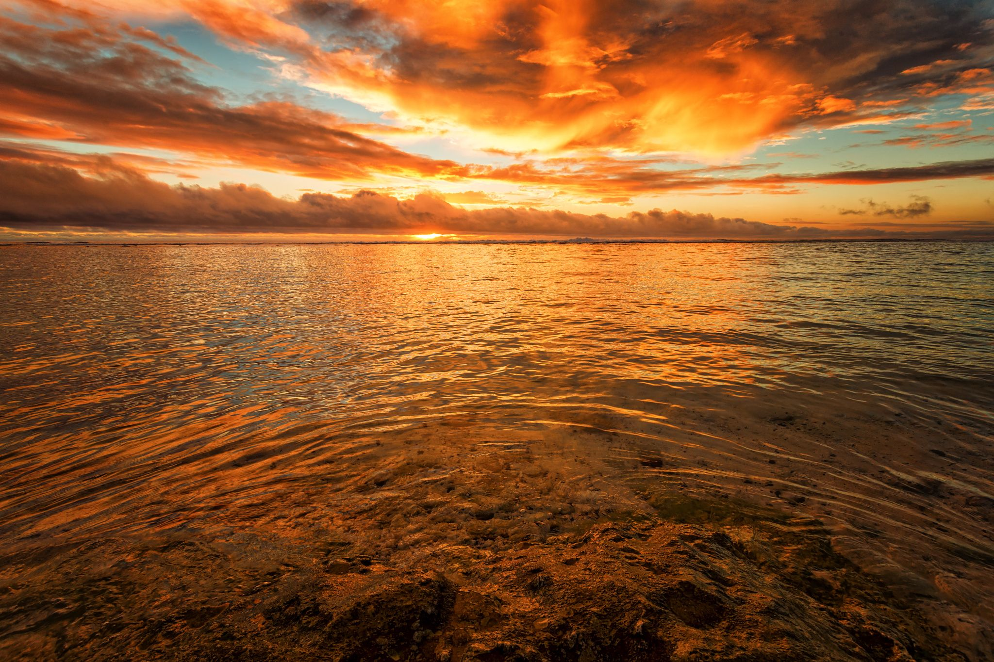 Fire in the Sky, Rarotonga by Stewart Baird on 500px