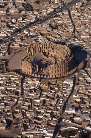 Coliseo de El Djem, en Túnez.