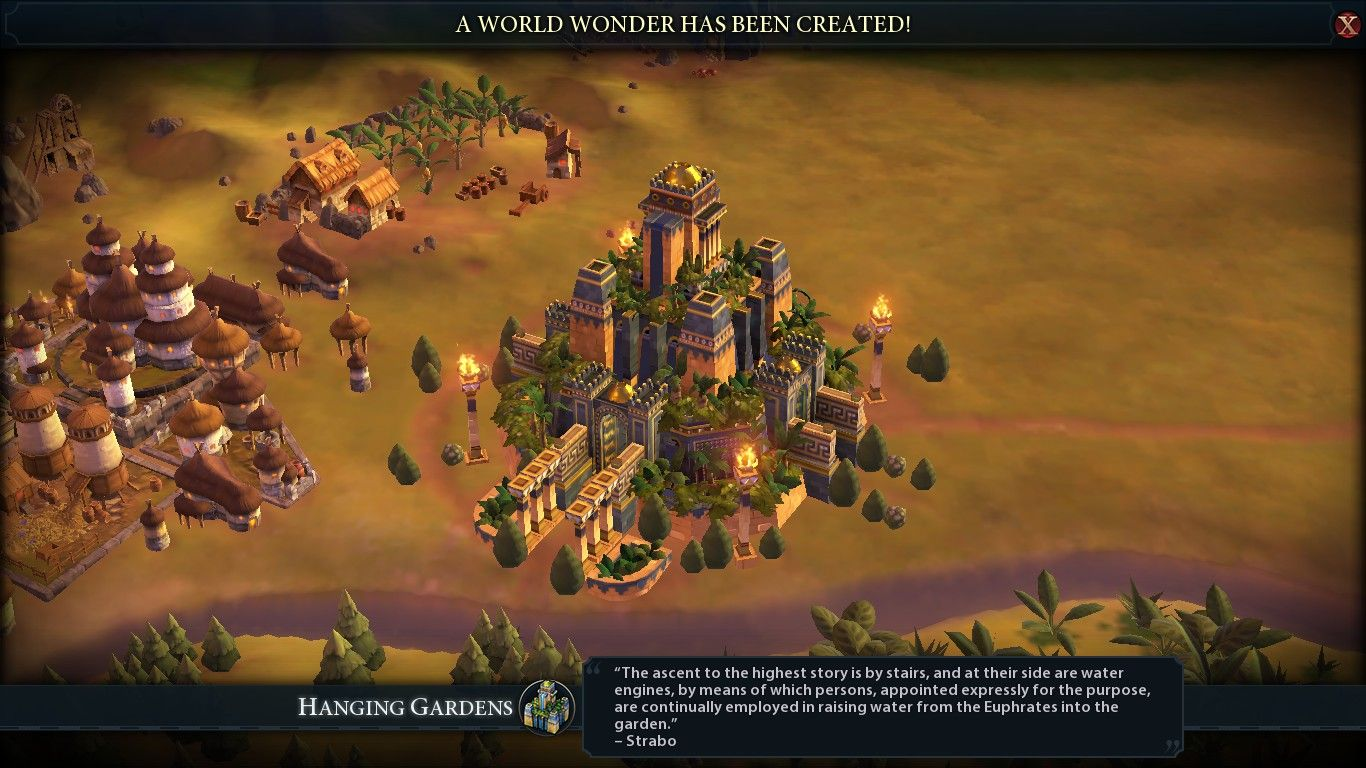 The Hanging Gardens come with something extra! #CivilizationBeyondEarth #gaming #Civilization #games #world #steam #SidMeier #RTS