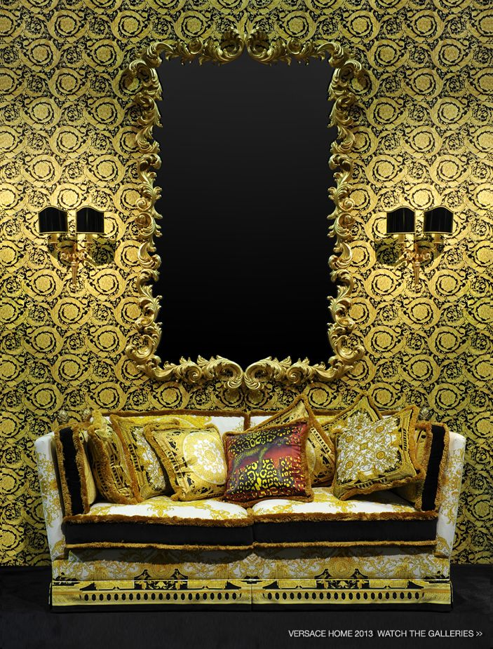 versace 2013 home collection alan would love this. Black Bedroom Furniture Sets. Home Design Ideas