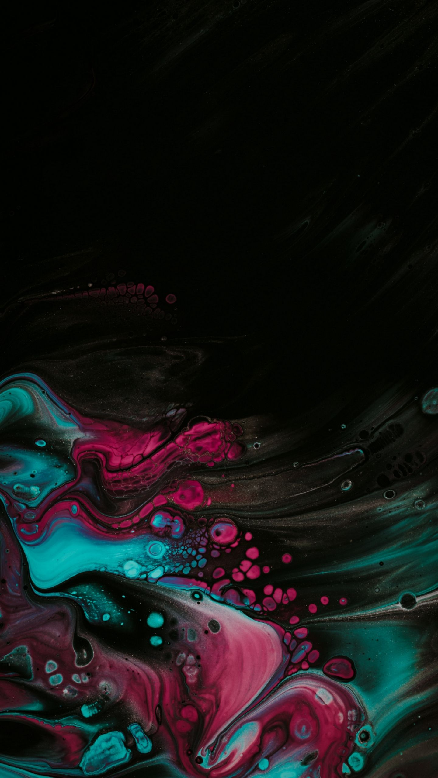 Download Wallpaper 1440x2560 Paint Spots Stains Mix Liquid Colorful Qhd Samsung Galaxy S6 S7 Edge Note Lg G4 Dark Wallpaper Graphic Wallpaper Painting