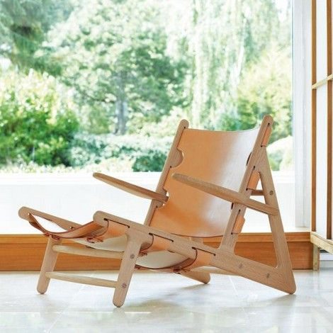 Hunting chair by Fredericia available at batavia.es
