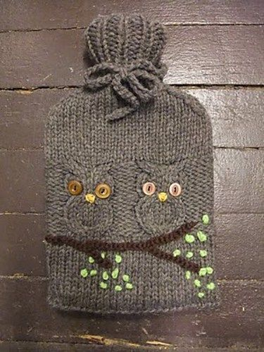 Free knitting pattern for hoot owl water bottle cozy and more owl free knitting pattern for hoot owl water bottle cozy and more owl knitting patterns dt1010fo