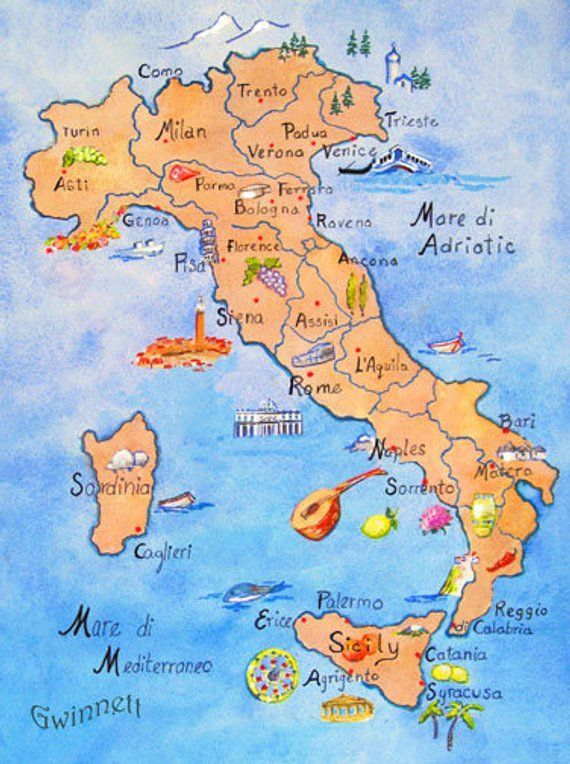 Naples Italy Map Naples Italy Neapel Italien Karte Carte De