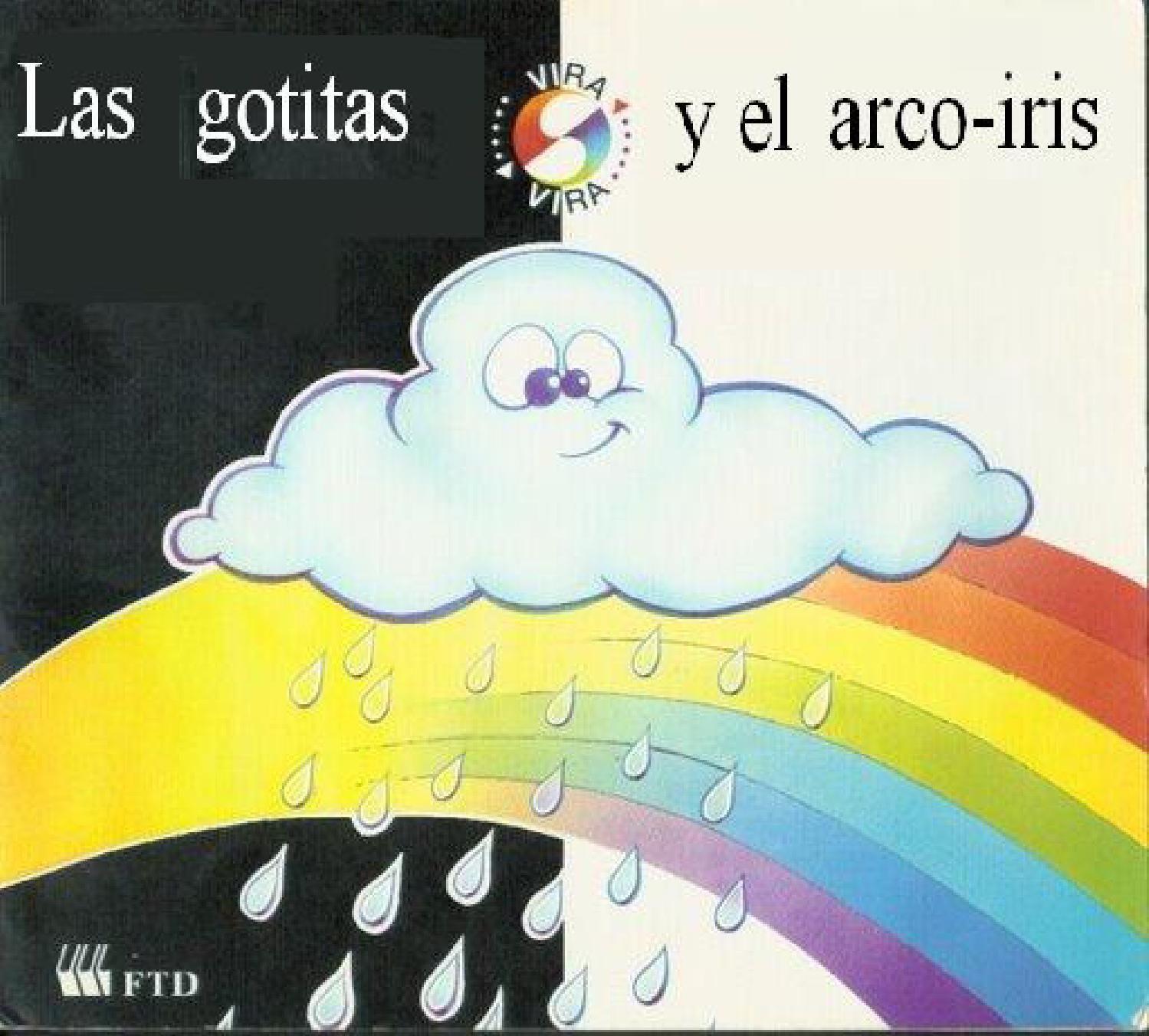 Las Gotitas Y El Arco Iris Arco Iris Actividades Libros Para Niños