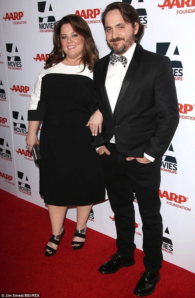 30bae017b95 Happy  Melissa has been married to actor Ben Falcone since 2005 and they  have two daughters